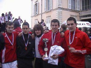 champions de france par equipe