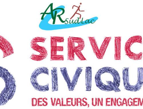 AR SUD LAC recherche service civique