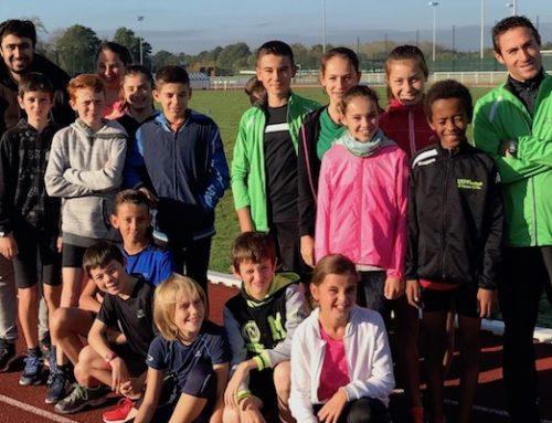 Créneaux entraînement jeunes saison 2018-2019