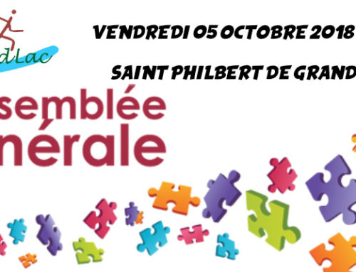 Assemblée Générale 2018 – 05 octobre 2018