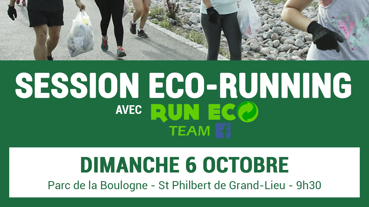 Session eco-running avec Run Eco Team