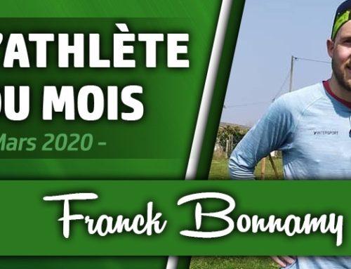 Athlète du mois de Mars : Franck Bonnamy