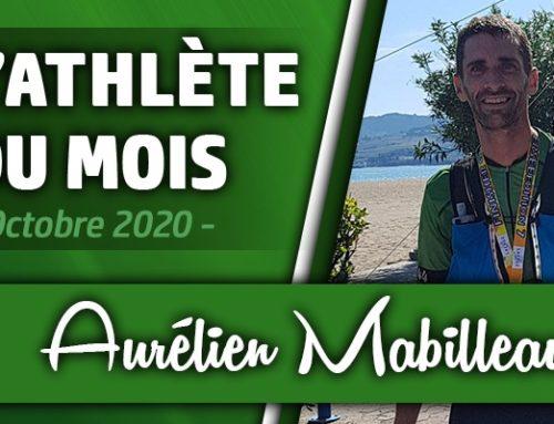 Athlète du Mois d'octobre : Aurélien Mabilleau